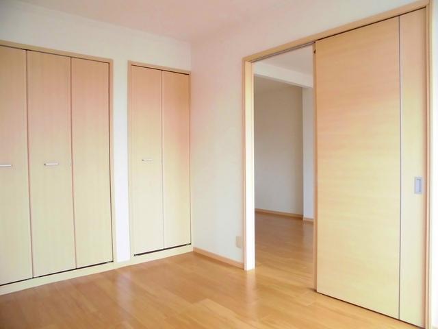 パルネット石田 02010号室のベッドルーム