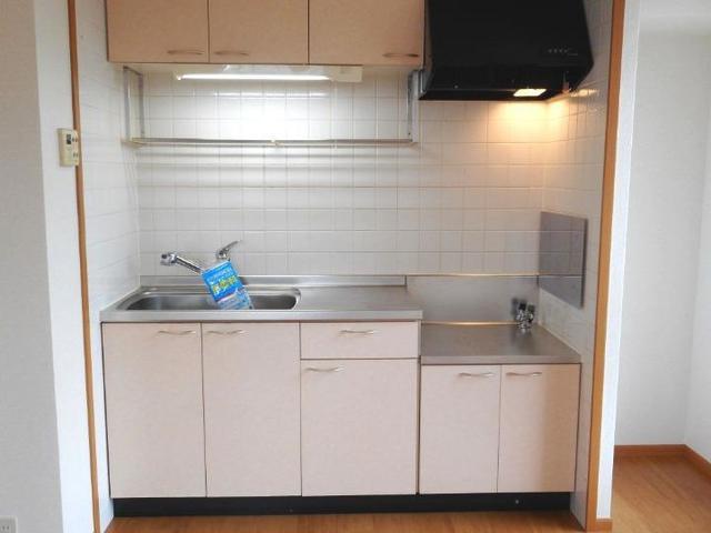 サン・ヒルズ永国A 02010号室のキッチン