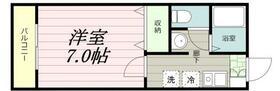 サニーコートⅡ・0102号室の間取り
