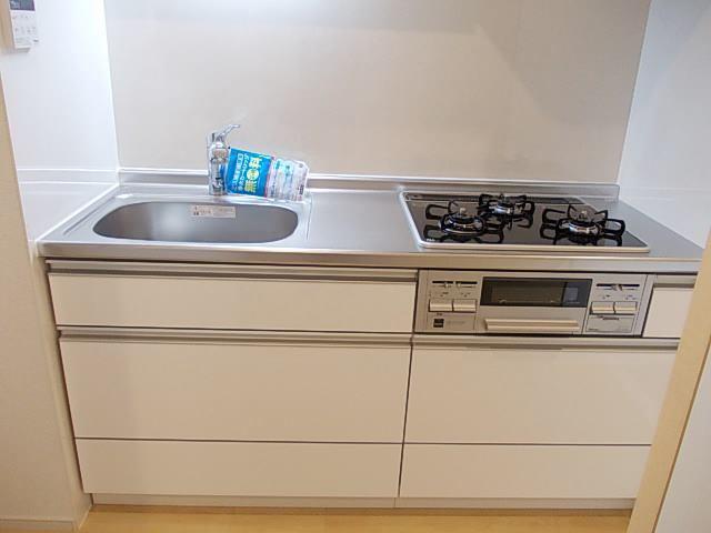 K・Sガーデン ひたち野うしく 01020号室のキッチン