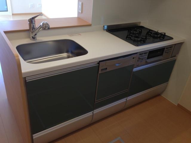 ヴィレッタ 101号室のキッチン