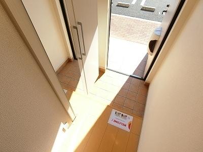 エトワール Ⅱ 02020号室の玄関