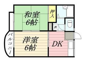 ドエル泉・0103号室の間取り