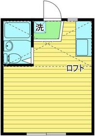 メゾンヤマト江古田・201号室の間取り