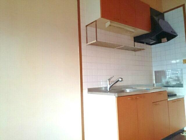 ア・ラ・モードパレス 02030号室のキッチン
