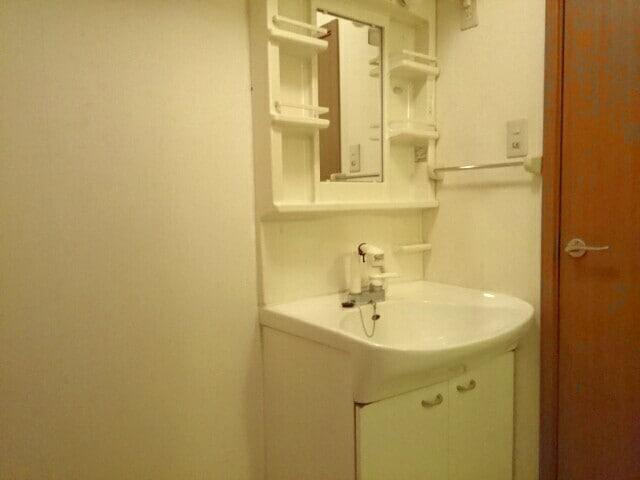 ア・ラ・モードパレス 02030号室の洗面所