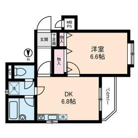 ライオンズマンション桜上水第二・0301号室の間取り