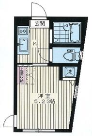 プロスパーマンション鷺宮・204号室の間取り