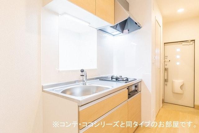 グレイス草間 01010号室のキッチン