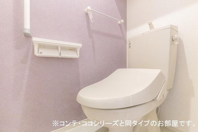 グレイス草間 01010号室のトイレ