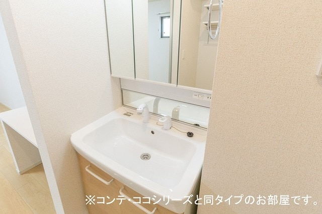 グレイス草間 01010号室の洗面所