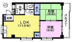 第2長谷川マンション・212号室の間取り