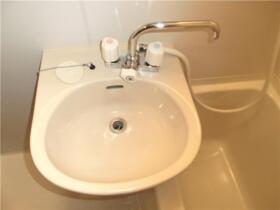 SKコーポ東村山 203号室の洗面所
