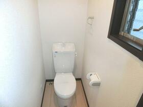 SKコーポ東村山 203号室のトイレ