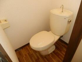 グレーシーフラット吉川 202号室のトイレ