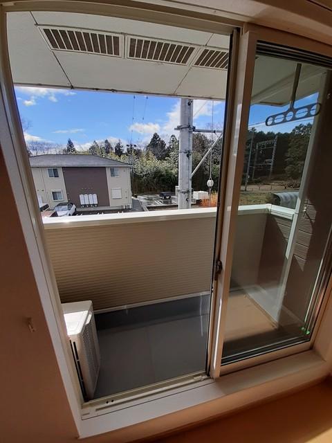 グランシャリオⅡ B 02010号室のバルコニー