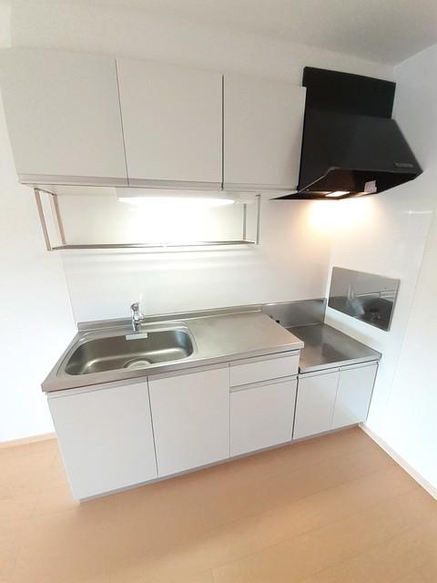 グランシャリオⅡ B 02010号室のキッチン