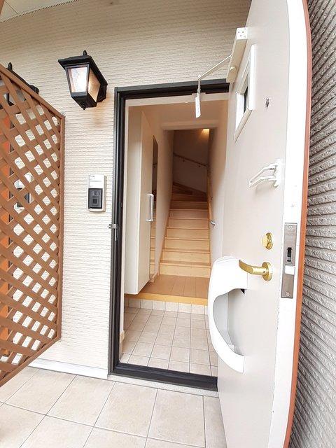 グランシャリオⅡ B 02010号室の玄関