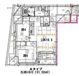 クレストコート日本橋人形町・303号室の間取り
