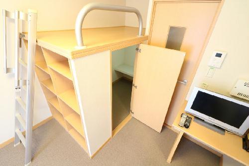 レオパレス華 212号室のトイレ