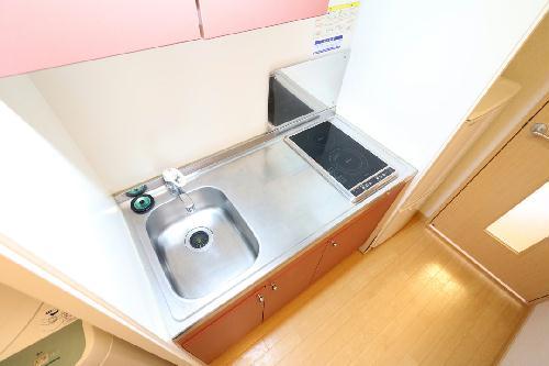 レオパレスひらかた 204号室のキッチン