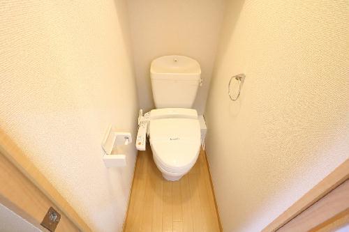 レオパレスひらかた 204号室のトイレ