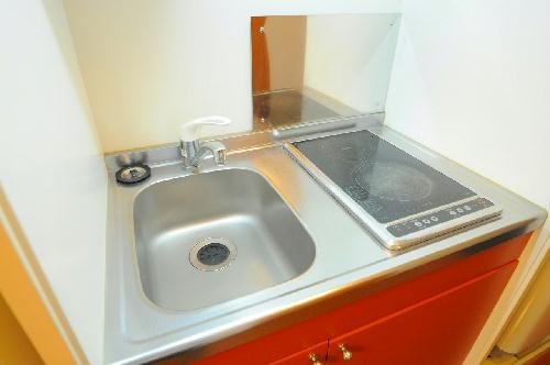 レオパレスK 202号室のキッチン