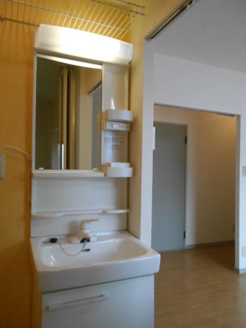 ヴァンヴェールA 101号室の洗面所