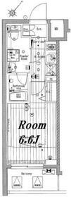 メイクスデザイン池袋・1102号室の間取り