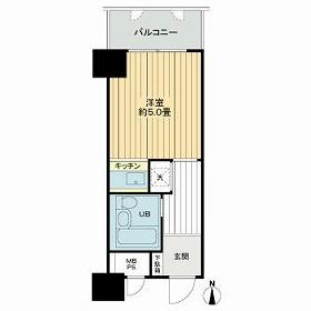 ライオンズマンション新大阪第3・314号室の間取り