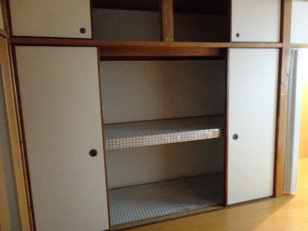 富貴ハイツ 207号室の収納