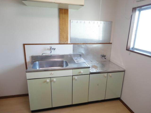 鷺森荘 10号室のキッチン
