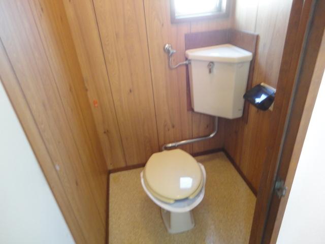 鷺森荘 10号室のトイレ
