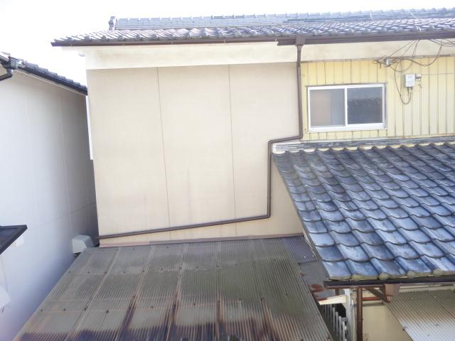鷺森荘 10号室の景色