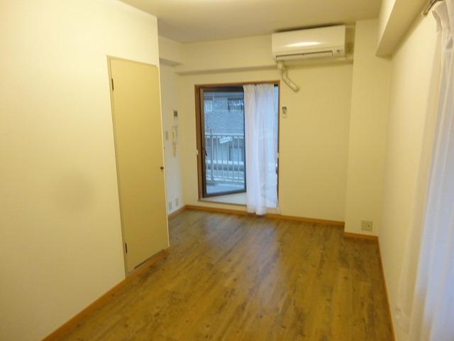 アリーバ 406号室のバルコニー