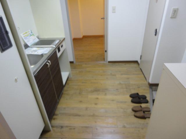 アリーバ 406号室のキッチン