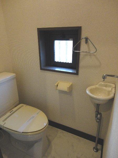 リジョイス桂 105号室のトイレ