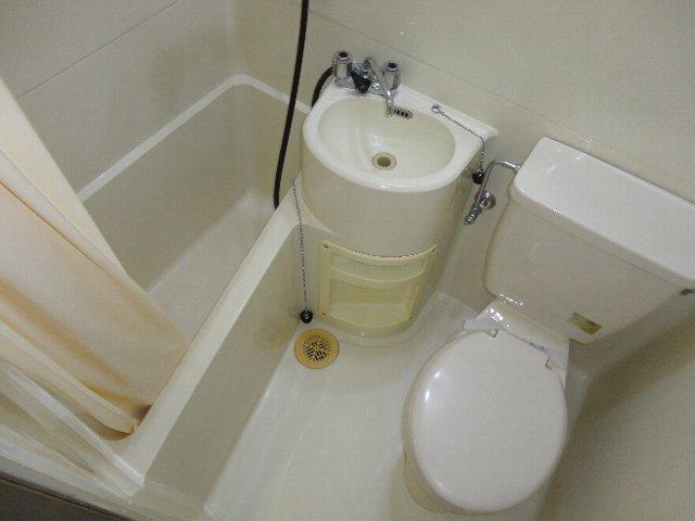 テラスワン17 102号室のトイレ