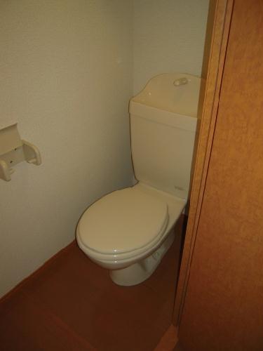 レオパレスM 101号室のトイレ