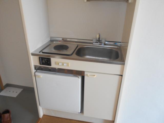 シェール西の京 301号室のキッチン