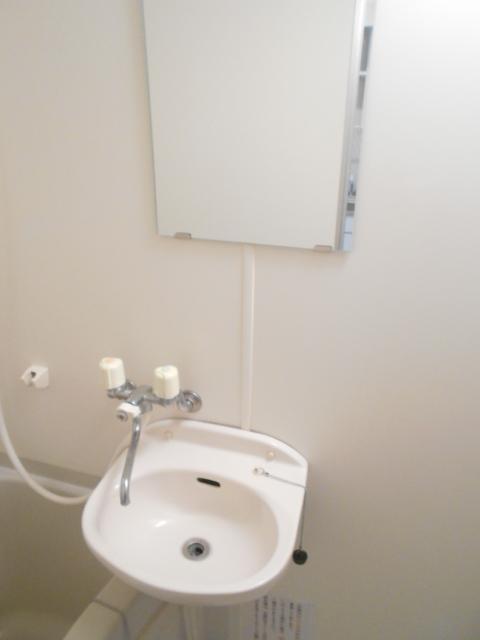 キャピタルミサト 307号室の洗面所