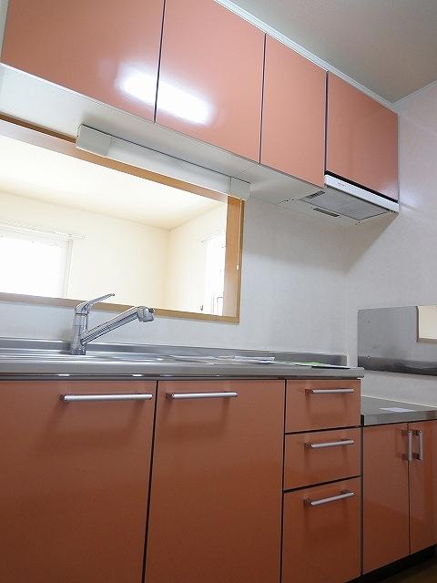 アンジュカルム 01010号室のキッチン