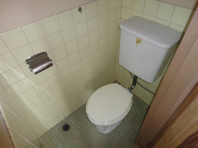 中原マンション 301号室のトイレ