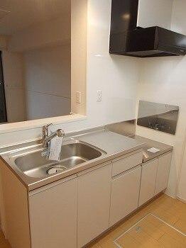 ラルーチェ 01030号室のキッチン