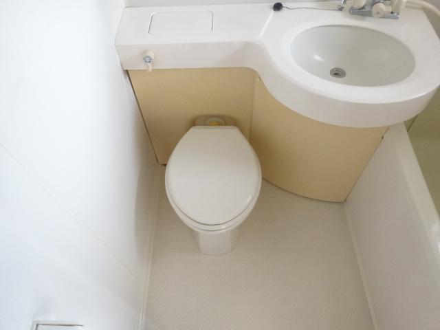 ブルーインKIMURA 203号室のトイレ