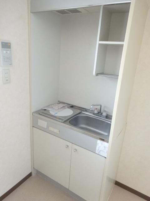 ブルーインKIMURA 203号室のキッチン