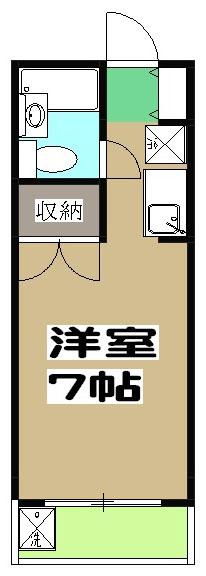 エントピア嵯峨・301号室の間取り