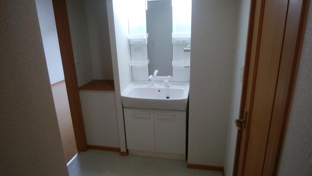 母屋 01030号室の洗面所