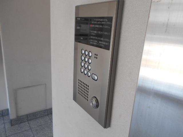 Bell・demeure石灘 301号室のセキュリティ