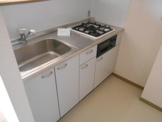 Bell・demeure石灘 301号室のキッチン